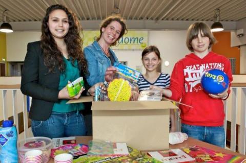 Foto donatie verjaardagsfeestjes kids voedselbank
