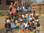 Weeskinderen bij FloJa Malawi